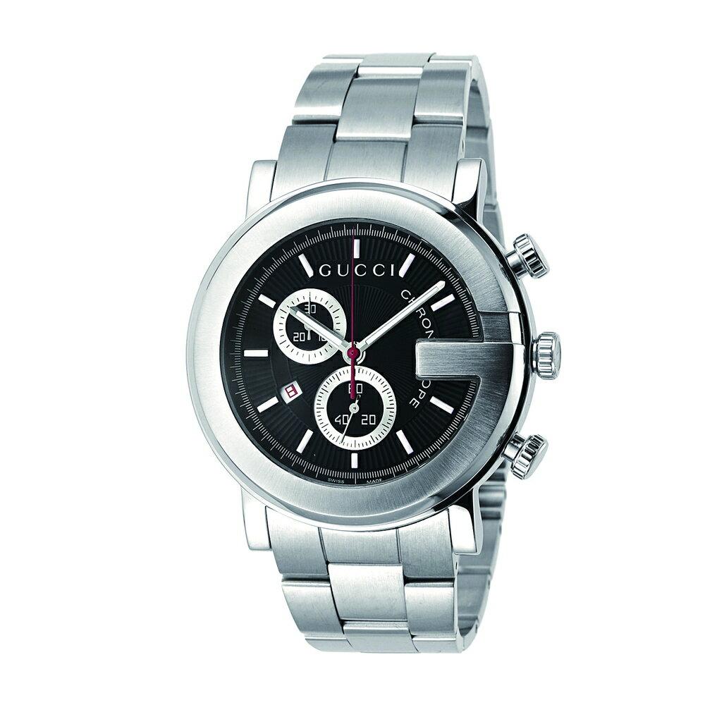 グッチ GUCCI 腕時計 メンズ 時計 【Gクロノ】 YA101309 ブラック