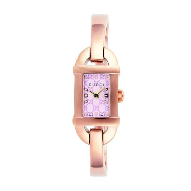 グッチ GUCCI 腕時計 レディース 時計 グッチ 【バンブー】 ピンクシェル YA068583 グッチ GUCCI