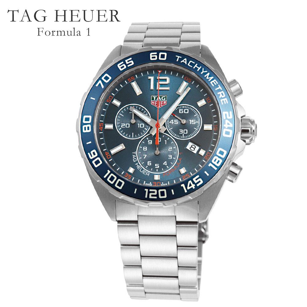 タグホイヤー TAG HEUER 腕時計 メンズウォッチ フォーミュラ1 CAZ1014.BA0842 ブルー系 43mm 【お取り寄せ】