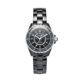 【ポイント5倍】【ご予約会対象品】 シャネル CHANEL 腕時計 メンズウォッチ J12 セラミック H0685 ブラック文字盤 38mm 【お取り寄せ】