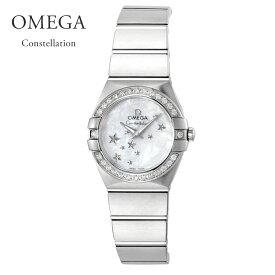 オメガ OMEGA 腕時計 レディースウォッチ コンステレーション 123.15.24.60.05.003 シェル 24mm 【お取り寄せ】【wcl】