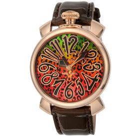 ガガミラノ GAGA MILANO 時計 ボーイズウォッチ 【MANUALE40mm】 5021 ART01 ブラウン 【お取り寄せ】