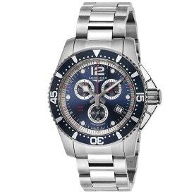 【期間限定クーポン対象商品】 ロンジン 腕時計 メンズウォッチ 【ハイドロコンクエスト】 L3.843.4.96.6 SILVER/BLUE LONGINES 【wcm】【c10】