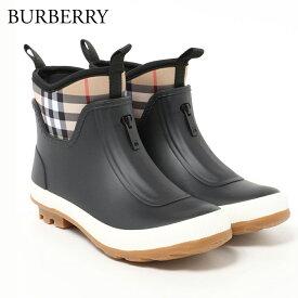 バーバリー BURBERRY キッズ レインブーツ 8008237 BLACK