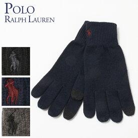 ポロ ラルフローレン POLO RALPH LAUREN メンズ 手袋 グローブ PC0493 選べるカラー