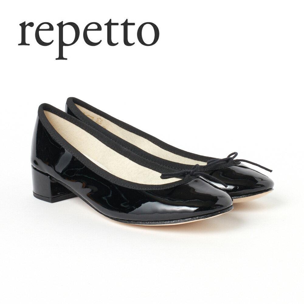 レペット レディスシューズ バレエシューズ REPETTO 【CAMILLE:カミーユ】 V511V ブラック(Noir/410) 【fll】