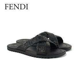 フェンディ サンダル 7X1222 AADS F0QA1 BLACK FENDI 【zkk】【gdm】