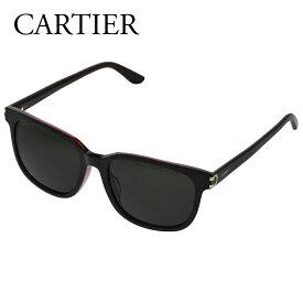 カルティエ サングラス CT0002SA ブラック 001 BLACK/BLACK CARTIER 【zkk】