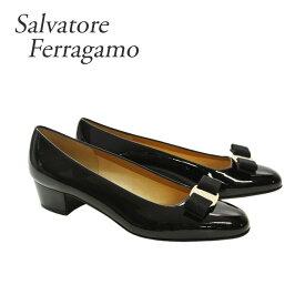 フェラガモ 靴 パンプス FERRAGAMO 【VARA】 574572 ブラック(NERO) 【shl】【pps】【zkk】