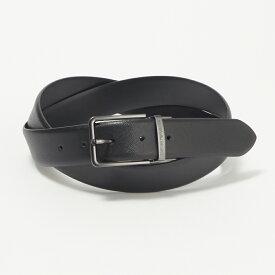 エンポリオアルマーニ EMPORIO ARMANI メンズ ベルト Y4S202 YLP4J 88001リバーシブル ブラック/ブラック