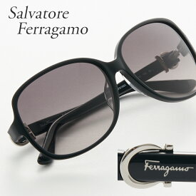 FERRAGAMO フェラガモ サングラス 615SA 001 ブラック 【お取り寄せ】【sef】