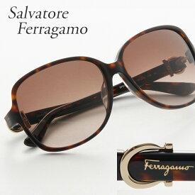 FERRAGAMO フェラガモ サングラス 615SA 214 ブラウン系 【お取り寄せ】【sef】【zkk】
