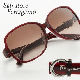 FERRAGAMO フェラガモ サングラス 615SA 604 ブラウン系 【お取り寄せ】【sef】【zkk】