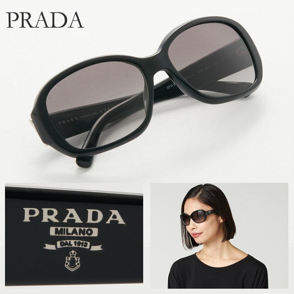 プラダ サングラス レディース PRADA 31NSA 1AB 3M1 ブラック系 【rm2o】