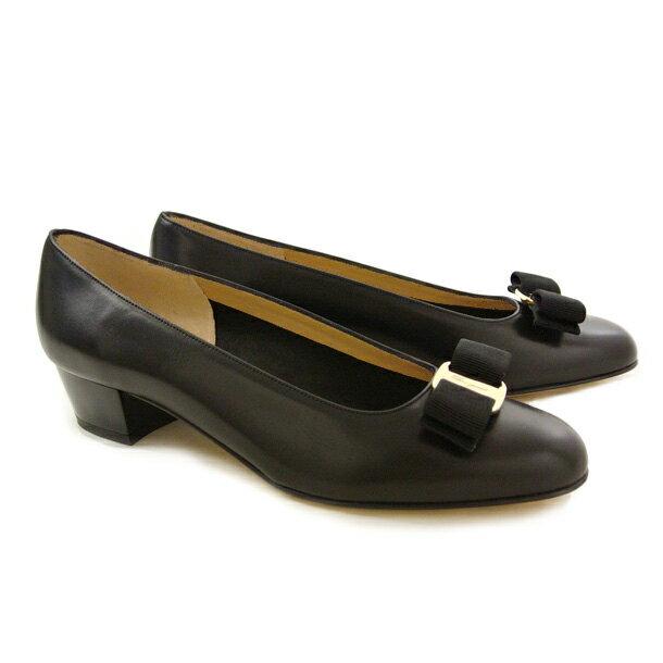 フェラガモ 靴 パンプス FERRAGAMO VARA 0574571 NERO 【VARA】 【fsl】