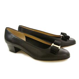 フェラガモ 靴 パンプス FERRAGAMO VARA 0574571 NERO 【VARA】 【fsl】【hkc】