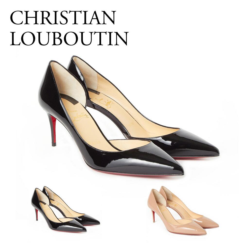【BLACK FRIDAY!エントリーでポイント7倍】 クリスチャンルブタン CHRISTIAN LOUBOUTIN 靴 パンプス 3140722 IRIZA 70 PATENT