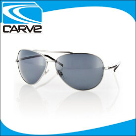 CARVE サングラス 偏光レンズ アイウェア TOP DOG SILVER POLA サーフィン スケボー