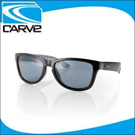 CARVE サングラス 偏光レンズ アイウェア ONE STEP BEYOND Black POLA サーフィン スケボー