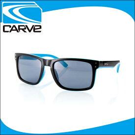 CARVE サングラス 偏光レンズ アイウェア GOBLIN Black/Blue POLA サーフィン スケボー