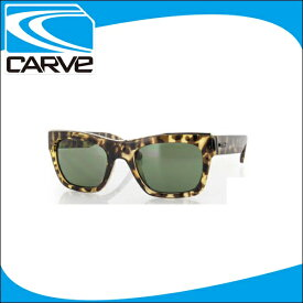 CARVE サングラス レディース 偏光レンズ アイウェア Carta Blanca Tort POLA サーフィン スケボー