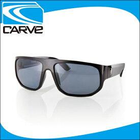 CARVE サングラス 偏光レンズ アイウェア MODULATOR black POLA サーフィン スケボー
