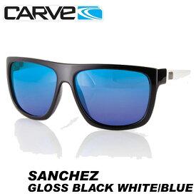 CARVE サングラス 偏光レンズ アイウェア SANCHEZ BK/WHT POLA Revo サーフィン スケボー