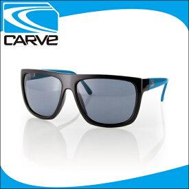 CARVE サングラス 偏光レンズ アイウェア SANCHEZ BK/BLU POLA サーフィン スケボー