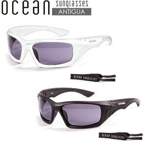 サングラス サーフグラス 偏光レンズ OCEAN オーシャン アンティグア ANTIGUA 軽量 偏光レンズ フローティンググラス ヘッドリーシュ付き 2カラー 希望小売価格の20%OFF