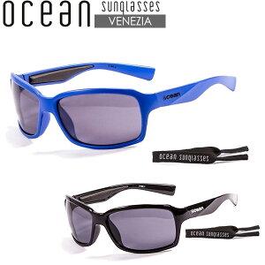 サングラス サーフグラス 偏光レンズ OCEAN オーシャン ベネジア VENEZIA 偏光レンズ ネオプレーンヘッドリーシュ付き 2カラー 希望小売価格の20%OFF