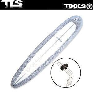 TOOLS サーフボードカバー 10'0 シルバー ロングボード用 ボードラップ TLS ツールス サーフィン