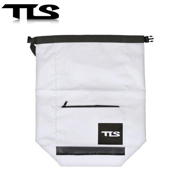 TOOLS 防水バッグ ウェットバッグ 52cm×65cm ホワイト ウェットスーツ 水着 TLS ツールス サーフィン 海水浴