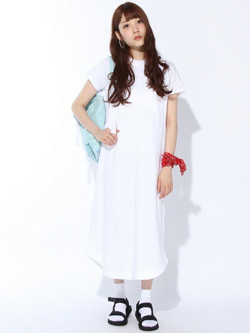 【SALE/45%OFF】X-girl HIGH NECK LONG DRESS/ワンピース エックスガール ワンピース【RBA_S】【RBA_E】【送料無料】