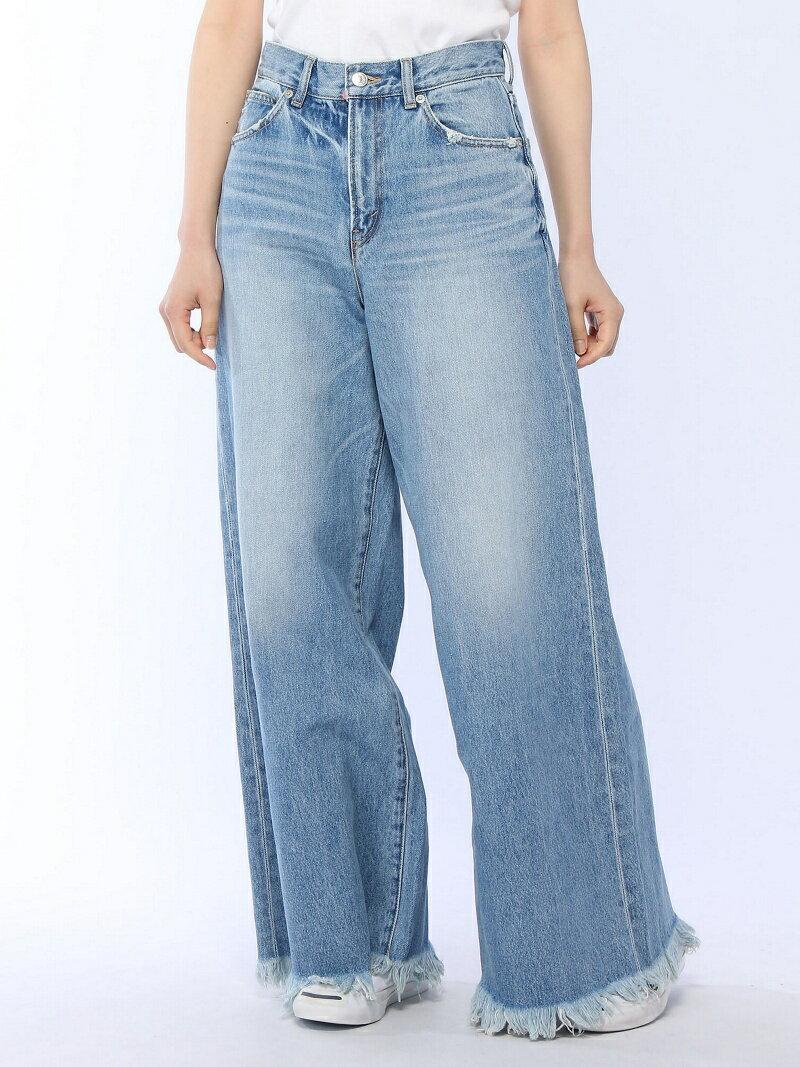 【SALE/45%OFF】X-girl WIDE LEG PANTS エックスガール パンツ/ジーンズ【RBA_S】【RBA_E】【送料無料】