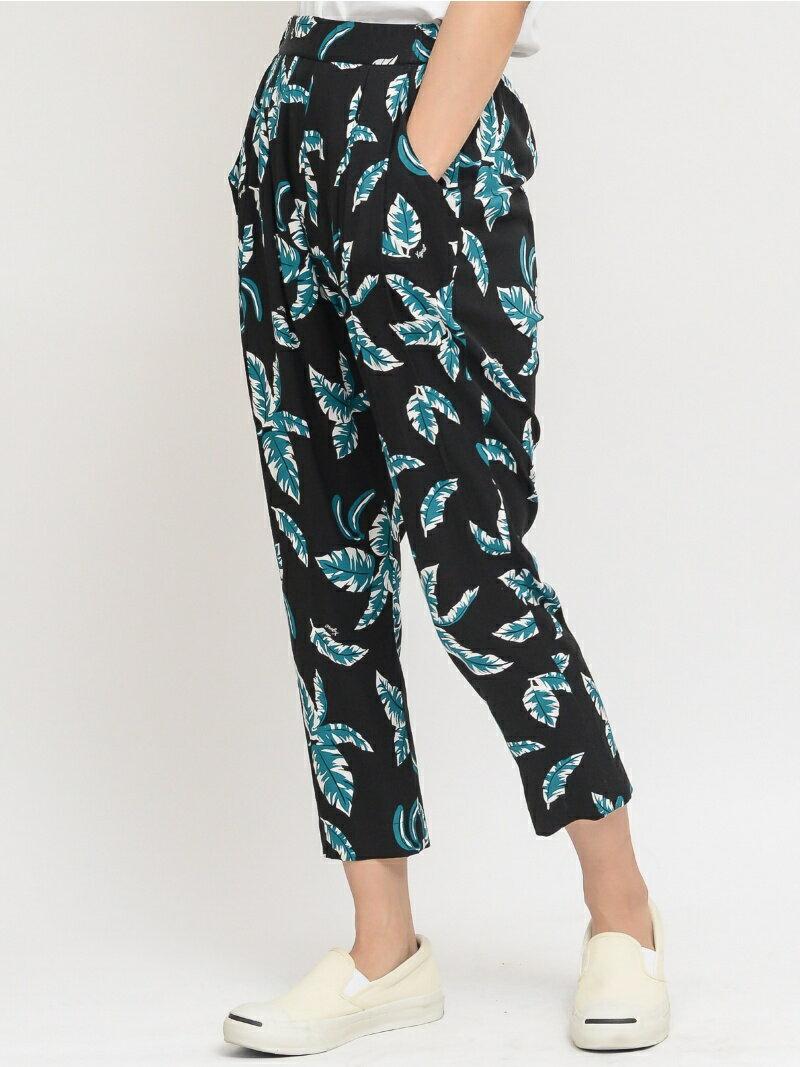 【SALE/55%OFF】X-girl ALOHA TUCK PANTS/パンツ エックスガール パンツ/ジーンズ【RBA_S】【RBA_E】【送料無料】