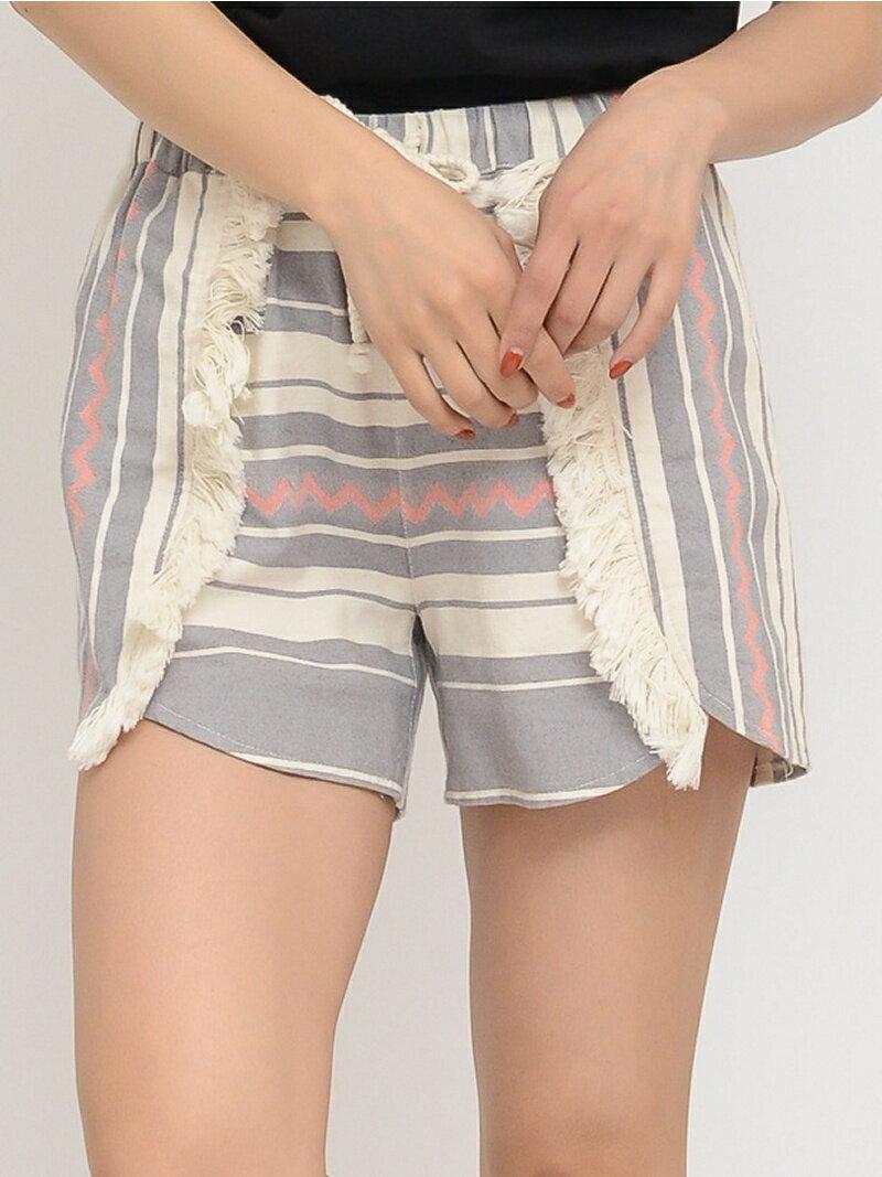 [Rakuten BRAND AVENUE]【SALE/72%OFF】MEXICAN SHORT PANTS/パンツ X-girl エックスガール パンツ/ジーンズ【RBA_S】【RBA_E】【送料無料】