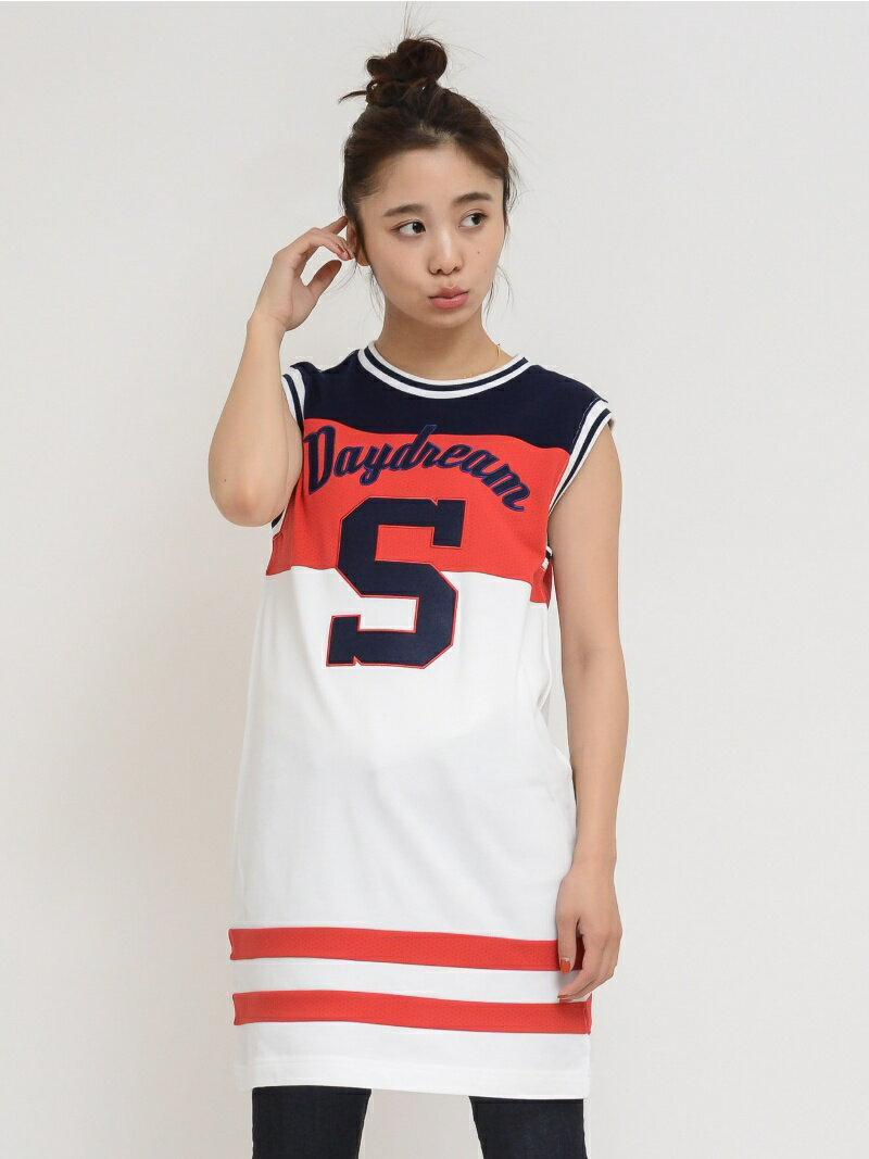 【SALE/45%OFF】X-girl SPORTY CREWNECK DRESS/ワンピース エックスガール ワンピース【RBA_S】【RBA_E】【送料無料】
