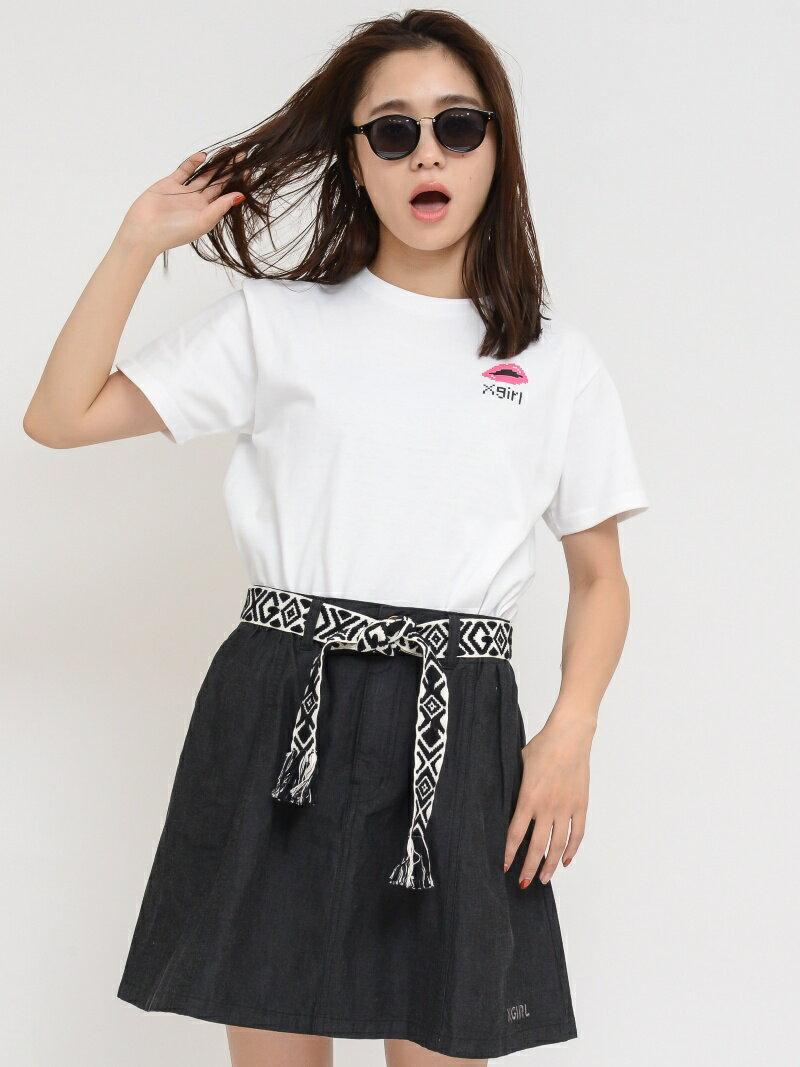 【SALE/55%OFF】X-girl SUMMER A-LINE SKIRT エックスガール スカート【RBA_S】【RBA_E】【送料無料】