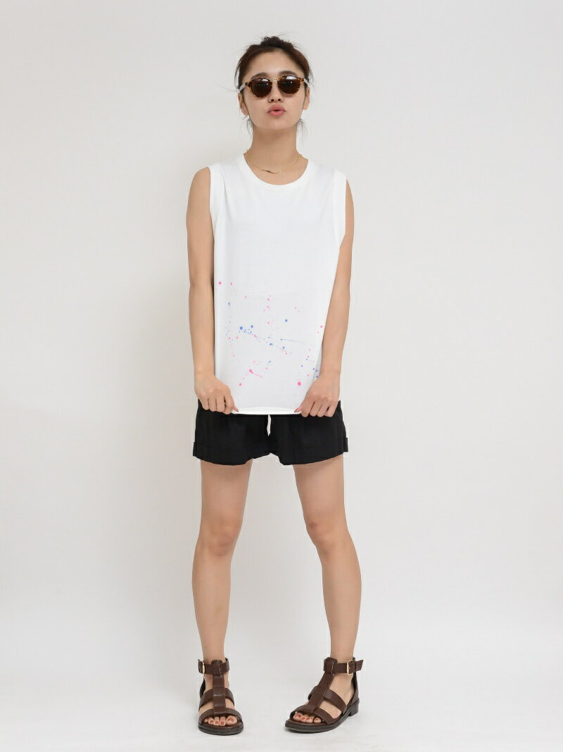 "【SALE/45%OFF】X-girl ""SPLASH"" TANK TOP エックスガール カットソー【RBA_S】【RBA_E】"