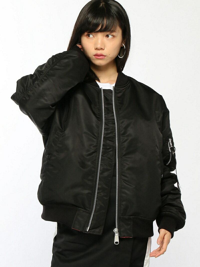 [Rakuten BRAND AVENUE]X-girl x NONAGON MA-1 X-girl エックスガール コート/ジャケット【送料無料】