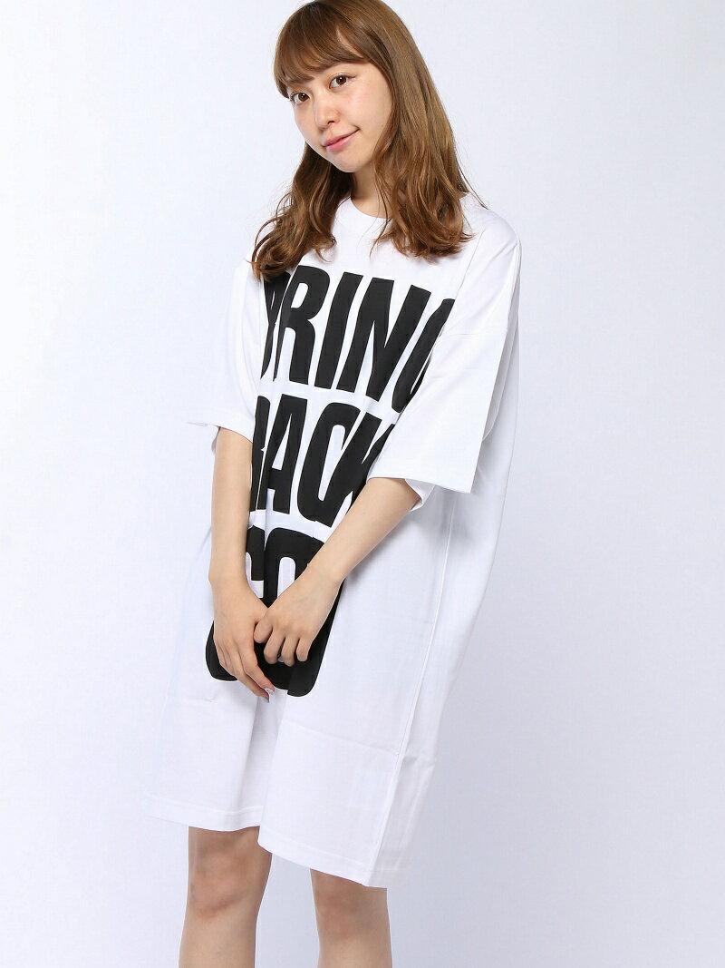 【SALE/30%OFF】X-girl KH XG S/S TEE DRESS エックスガール ワンピース【RBA_S】【RBA_E】【送料無料】
