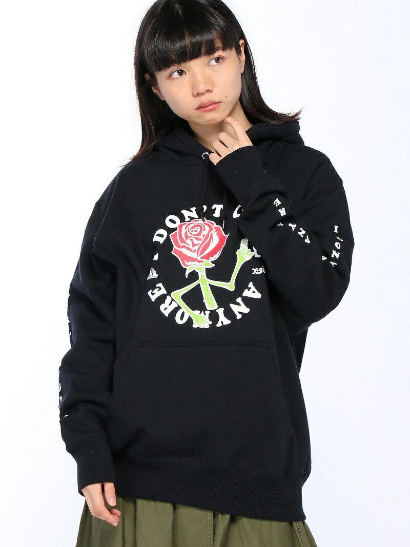 [Rakuten BRAND AVENUE]【SALE/20%OFF】X-girl X-girlxJUNGLES DONT CARE SWEAT HOODIE エックスガール カットソー【RBA_S】【RBA_E】【送料無料】