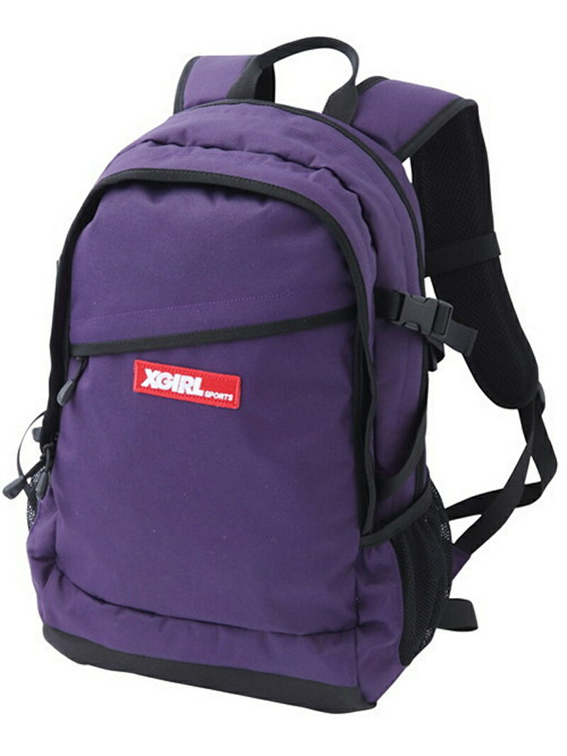 [Rakuten BRAND AVENUE]HIKING BACKPACK/バックパック/リュック X-girl エックスガール バッグ【送料無料】