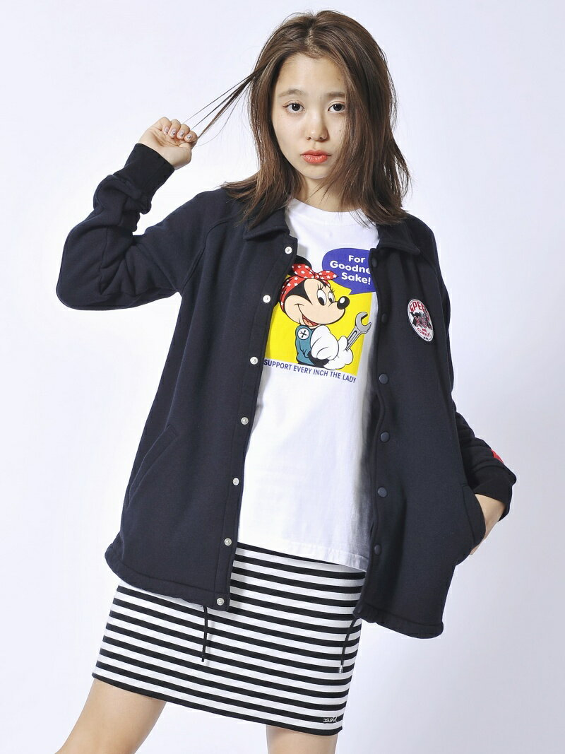 【SALE/45%OFF】X-girl *REVERSIBLE TIGHT SKIRT エックスガール スカート【RBA_S】【RBA_E】【送料無料】