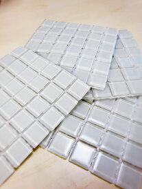 aキューブ25角紙貼り モザイクタイルガラスタイル 25mm角 6×6粒 36粒シート貼り【ゆうパケット可】【3シートまでゆうパケット可能】