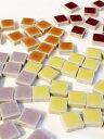 モザイクタイル テンアート 10mm角選べるカラーは全61色♪1cm角の小さなタイル50g単位で量り売りします(50粒前後)10×10×4mm【ゆう…