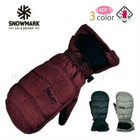 スキー スノーボード グローブ レディース スノボ 防水 スノーグローブ 防水インナー内蔵 手袋 オールラウンド ロゴ 黒 ブラック グレー ワイン
