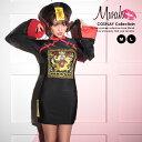 コスプレ ハロウィン 2020 レディース 2点セット 可愛い 衣装 仮装 可愛い コスチューム お揃い ゾンビ キョンシー コスチュームセット ブラック M Lサイズ ワンピース 帽子