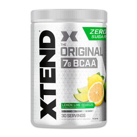 エクステンド BCAA レモンライムスクイズ【約30回分】Xtend Original Lemon-Lime Squeeze 30 Servings オリジナル 必須アミノ酸 分岐鎖アミノ酸 筋トレ ダイエット パウダー