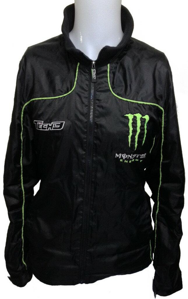 tech3ヤマハ ライトウエイトジャケットA ウインドブレーカー モンスターエナジー  Monster Energy